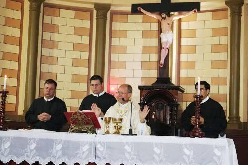 Paróquia de Santo Afonso celebra missa do padroeiro com a presença de Dom João Gilberto de Moura
