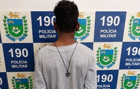 Polícia Militar de Jardim prende autor de furto em flagrante