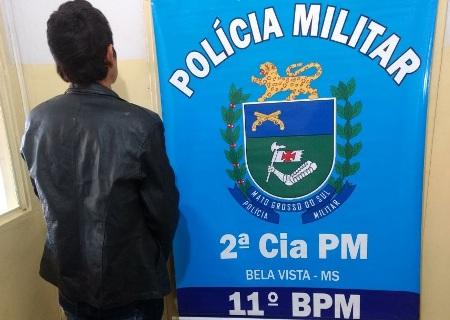 Polícia Militar de Bela Vista prende traficante e apreende drogas durante policiamento