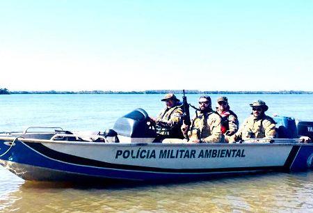 PMA e PF realizam operação com 10 Policiais e autuam seis paranaenses em R$ 8,5 mil por pesca ilegal