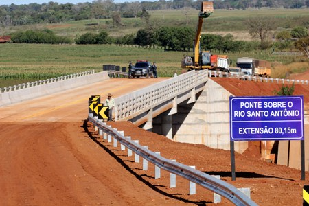 Em 4 anos, MS recebe mais pontes de concreto do que em toda história do Estado