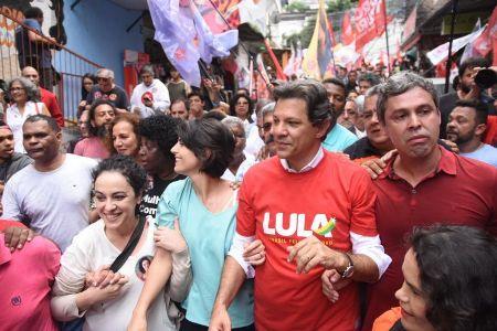 Com apoio de Lula, Haddad ultrapassa Ciro e vai ao segundo turno, diz XP