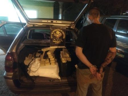 Em Ponta Porã, homem não obedece ordem de parada e é preso com droga