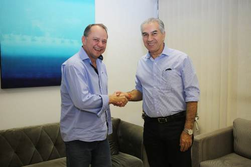 Ex-prefeito Douglas Gomes declara apoio à reeleição de Reinaldo Azambuja
