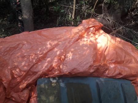 PMA desmonta acampamento de caça e pesca e apreende petrechos ilegais de pesca e arapuca