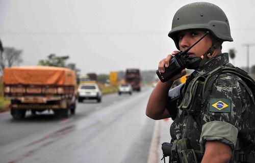 Exército, PRF e PF se unem em  grande operação na fronteira