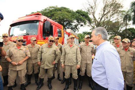 Quartel dos bombeiros e sistema de monitoramento expandem Naviraí
