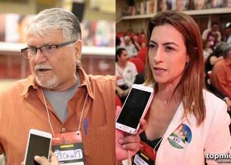 Candidata de Bolsonaro e Zeca do PT batem boca em debate sobre educação