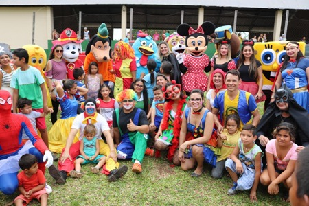 Liga da Alegria realiza 2ª Festa do Dia das Crianças nesta quinta-feira