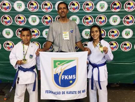 MS fatura 22 medalhas no Campeonato Brasileiro de Karatê em Belo Horizonte