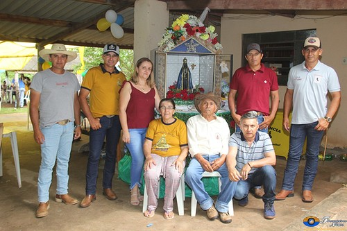 Em Bela Vista, cavalgada, missa, baile e churrasco marcam dia de Nossa Senhora Aparecida