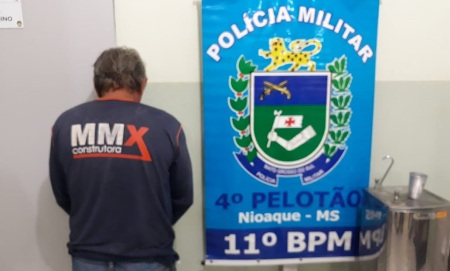 PM de Nioaque prende autor de furto em flagrante