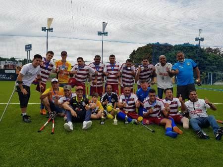 Time do MS garante vaga para série A do Brasileiro de Futebol para Amputados
