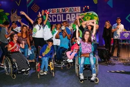 Com 76 medalhas, equipe sul-mato-grossense conquista título inédito na 12ª Edição das Paralimpíadas Escolares