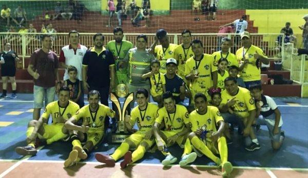 Amigos do P10 é o primeiro Campeão da Copa RBV LIONS de futsal