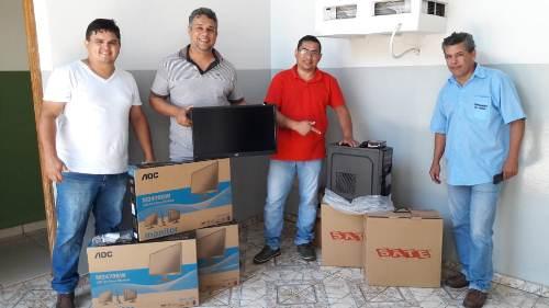 Câmara de Bela Vista compra novos computadores