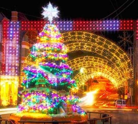 Caracol Lança concurso de Luzes de Natal