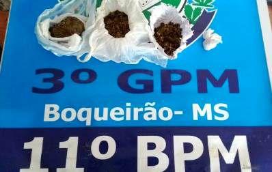 Policia Militar do Distrito do Boqueirão prende autoras por Tráfico de Drogas