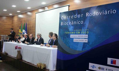 Encontro Corredor Rodoviário Bioceânico: turismo em foco