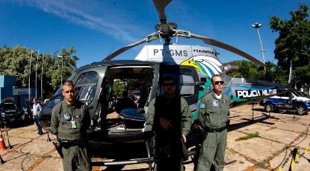 """Operação terá policiamento aéreo na Capital e no interior; """"aumenta sensação de segurança"""", afirma governador"""