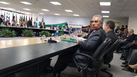 Com Sérgio Moro, Reinaldo Azambuja reforça pautas de combate ao crime organizado no Brasil