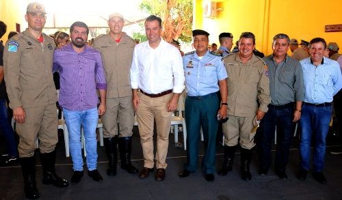 Corpo de Bombeiros Militar em Jardim realiza Solenidade de Passagem de Comando