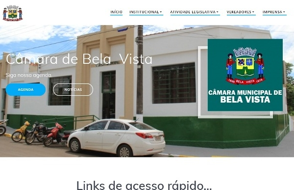 Portal da câmara de Bela Vista visa facilitar o acesso do cidadão a informações