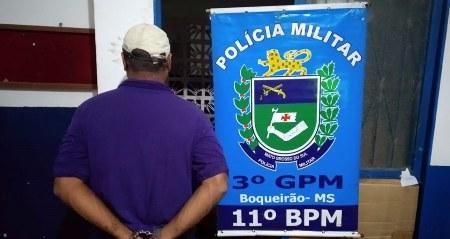 Polícia Militar cumpre mais um Mandado de Prisão durante abordagem no distrito de Boqueirão