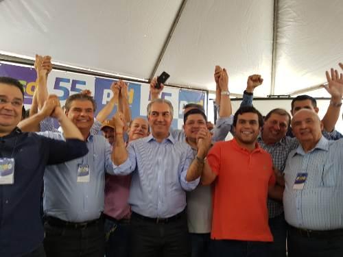 Senador Nelsinho Trad é eleito presidente do diretório regional do PSD
