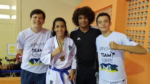 Enzo vence etapa Pernambucana do Campeonato Brasileiro de Karatê