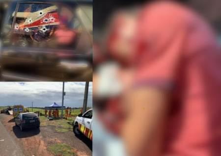 Pistoleiros atacam família em rodovia de MS e atiram em motorista, mulher e bebê