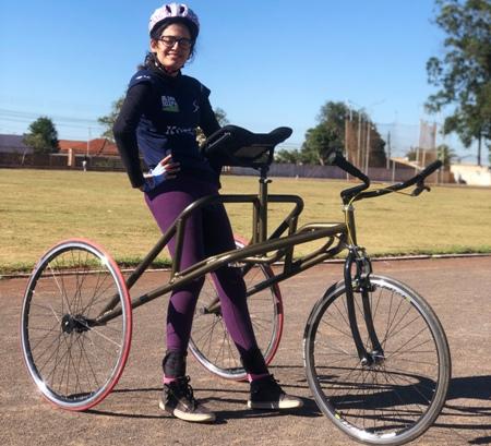 "Paratleta de 21 anos ganha ""Bicicleta"" petra de patrocínio"