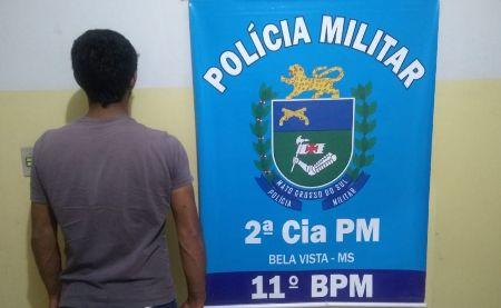 Polícia Militar em Bela Vista prende em flagrante dois autores de Furto