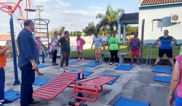 Em Caracol, Academia da Saúde oferece atividades para melhorar a qualidade de vida da população