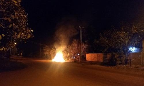 Em Bela Vista, morador usa rede social para condenar queimadas