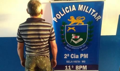Polícia Militar cumpre dois Mandados de Prisão em Bela Vista