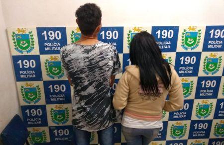 Polícia Militar prende casal de traficantes na área central de Jardim