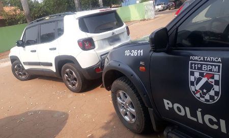 Polícia Militar recupera, em Aquidauana, veículo que havia sido furtado no estado de São Paulo