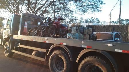 Traficantes transportavam 130 quilos de maconha em motos