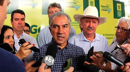 Governo Presente: Reinaldo Azambuja se reúne com Marquinhos Trad nesta quinta-feira