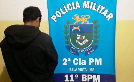 Polícia Militar prende autor de Roubo em Bela Vista