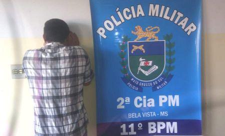 Polícia Militar prende dois homens por Crime de Trânsito, em Bela Vista e Jardim