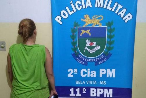 Polícia Militar prende em flagrante proprietária de bar em Bela Vista, por Vender Bebida Alcoólica a Adolescente