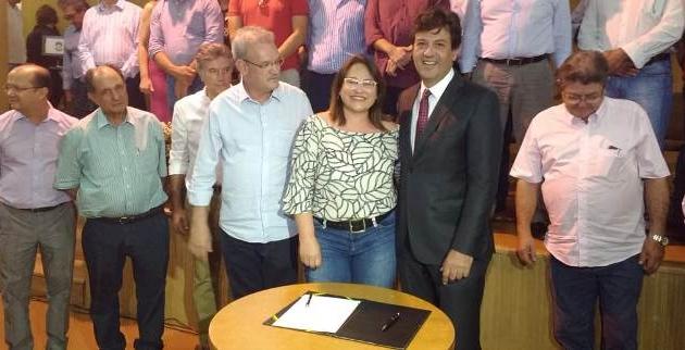 Antônio João:Prefeita Márcia mantém reunião com ministro da Saúde