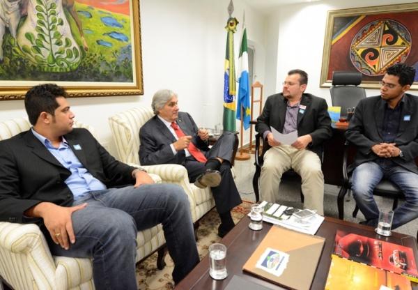 Delcídio articula investimentos para Jardim, Pedro Gomes e Aral Moreira
